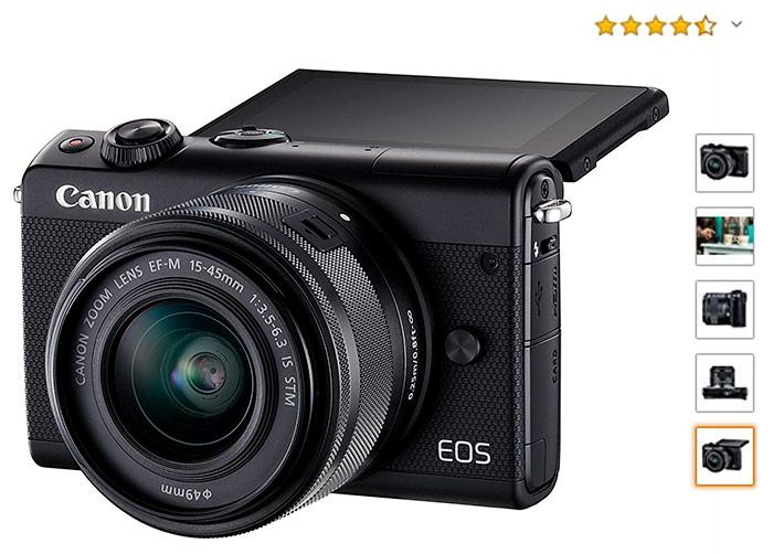 EVIL Canon EOS-M100