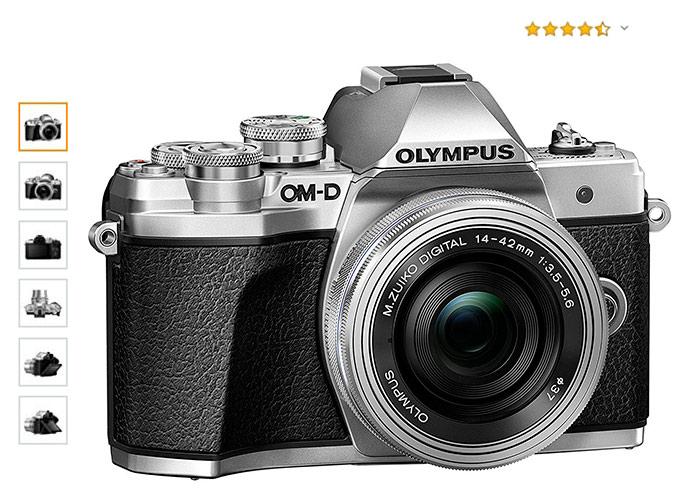 Cámara EVIL Olympus OM-D-E M10 Mark III