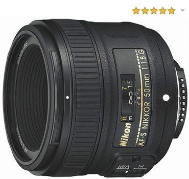Objetivo retrato Nikon