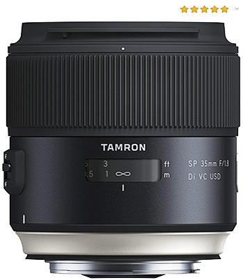 Objetivo para retrato Tamron SP 35mm f/1.8 Di VC USD Canon