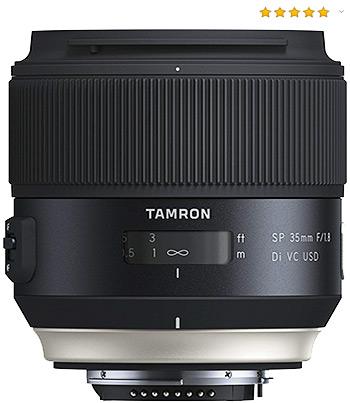 Objetivo para retrato Tamron SP 35mm f/1.8 Di VC USD Nikon