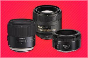 mejores objetivos para retrato, de focal fija y luminosos